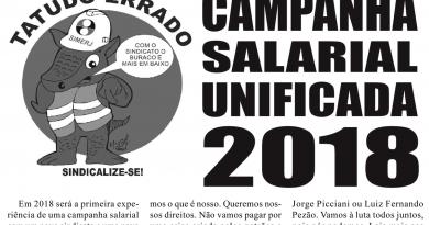 CAMPANHA SALARIAL UNIFICADA 2018