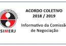ACORDO COLETIVO 2018 / 2019