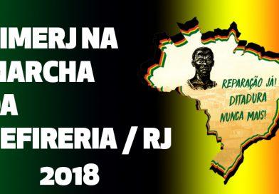 SIMERJ NA MARCHA DA PERIFERIA / RJ – 2018