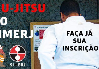 Aulas de JIU-JITSU no SIMERJ