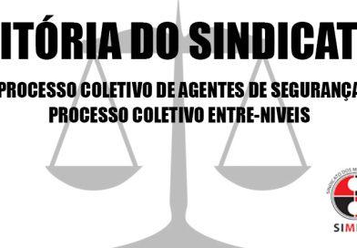 Processos: VITÓRIA DO SINDICATO
