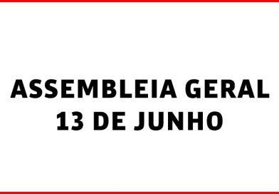 ASSEMBLEIA GERAL NO SIMERJ – 13 DE JUNHO