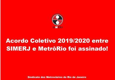 Acordo Coletivo 2019/2020