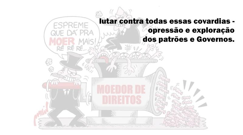 Campanha contra as terceirizações, as demissões e pela Reestatização do Sistema Metroviário do Rio de Janeiro