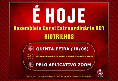 RIOTRILHOS / ASSEMBLEIA GERAL EXTRAORDINÁRIA 007