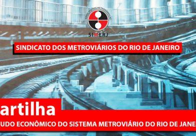 Cartilha: ESTUDO ECONÔMICO DO SISTEMA METROVIÁRIO DO RIO DE JANEIRO