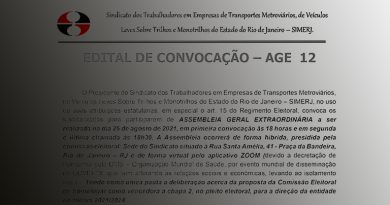 Edital de Convocação para Assembleia Geral Extraordinária 12